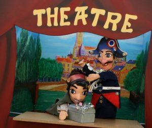 Spectacle de marionnettes à domicile